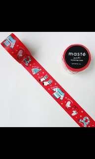 🚚 Maste紙膠帶 聖誕款