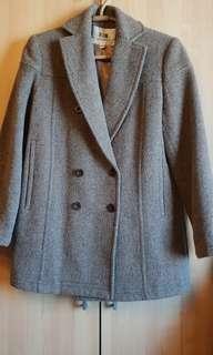 超美毛料修身西裝外套