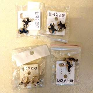 Ear rings clips (without holes)
