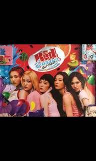 Red Velvet Poster The Red Summer