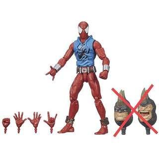 Marvel Legends Rhino BAF Wave Scarlet Spider (Spider-Man Spiderman Classics SMC Spider-Ham Avengers Infinity War X-Men Select)