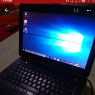 Laptop Dell intel core i7 processor