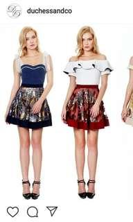 Duchess and Co sequin skirt