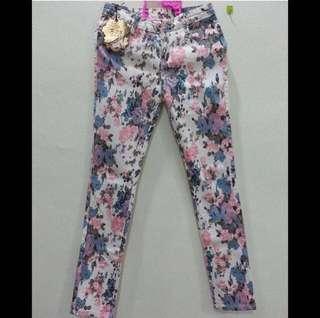 🆕 Floral Pants / Jeans #Dec30