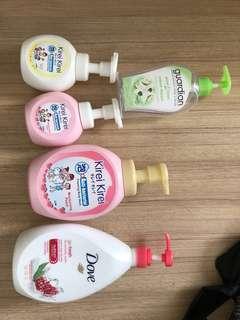 Refill bottles (free)