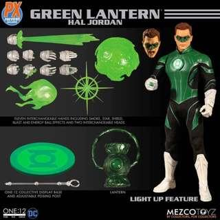 [PREORDER] Mezco One:12 Collective PX Previews Exclusive Hal Jordan Green Lantern