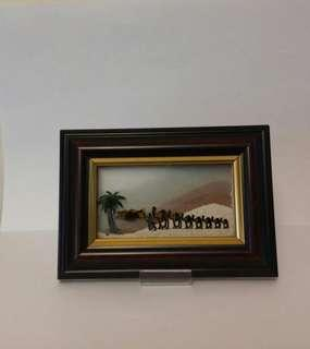 駱駝沙漠沙漏擺設 (購自杜拜)