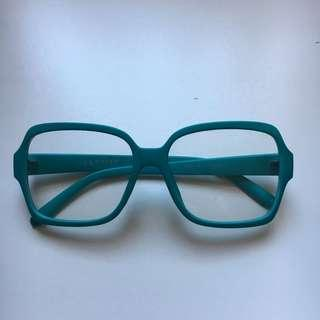 Fashion Glasses in Teal