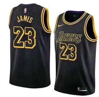 NBA Jersey Lakers James Size M