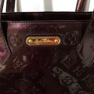 LV Red Wine A4 bag