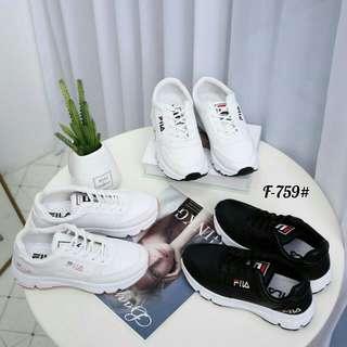 8022bdeef0 [FILA DISRUPTOR SNEAKERS F-759] Sepatu Fashion Wanita Impor Murah