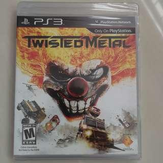 Twisted Metal (PS3) (Brand New Sealed)