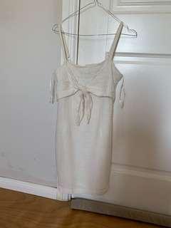 White dress from marttini by lana