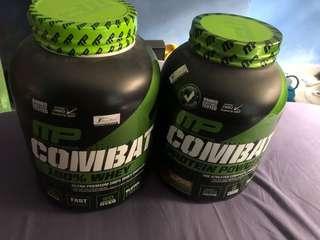 MP COMBAT Whey Protein x2