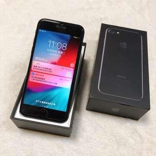 second hand IPHONE 7 128G black  90% new