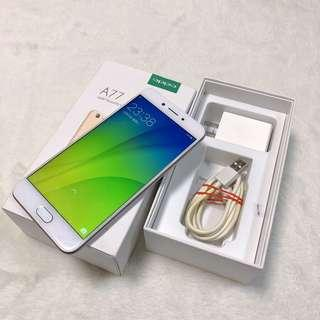 second hand OPPO A77 Gold 4G RAM 64G ROM