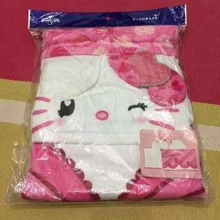 Hello kitty Towel with Hoodie