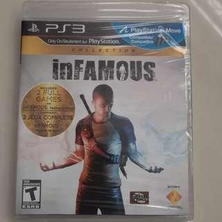 InFamous Collection (PS3) (Brand New Sealed)
