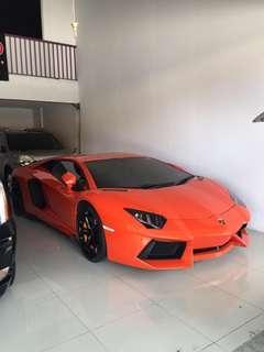 Dijual Lamborghini Aventador LP 700-4 Tahun 2013