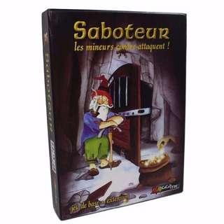 [PO] Saboteur 1+2 Card Game