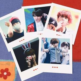 [wts] bts jungkook fansite polaroids by fortune