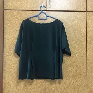 Uniqlo Dark Green Top