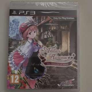 Atelier Rorona: The Alchemist of Arland (PS3) (Brand New Sealed)
