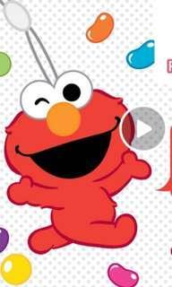 Elmo Nets Flashpay Ezlink Charm