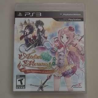 Atelier Meruru: The Apprentice of Arland (PS3) (Brand New Sealed)