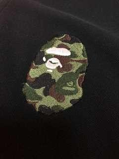A Bathing Ape Camo Head Polo Shirt
