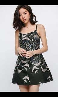 Lovebonito Dafelle Embroidered Mini Dress