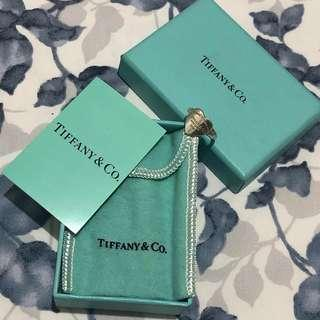 Authentic Tiffany and Co. RTT Heart ring size 4.5-5