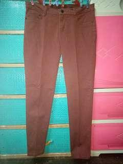 Herbench/ Colored Chinos Maroon