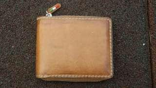Italian  oil leather men's wallet