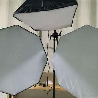 Octagon Shape Studio Softbox (Single Source) 90cm