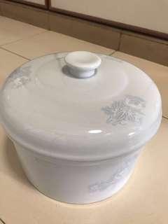 Ceramic Double boil soup pot