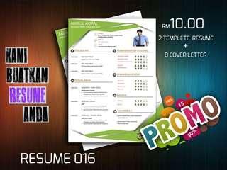 Resume 016