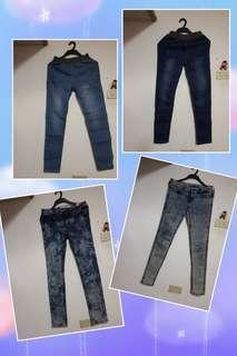 🚚 H&M.GIORDANO牛仔褲