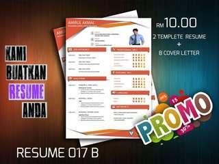 Resume 017 B