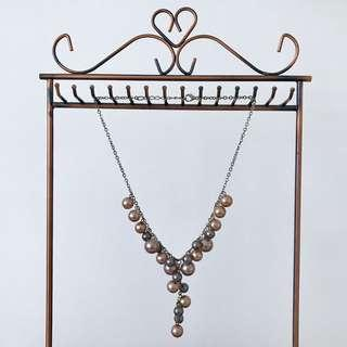 Adjustable Necklace - Pearls
