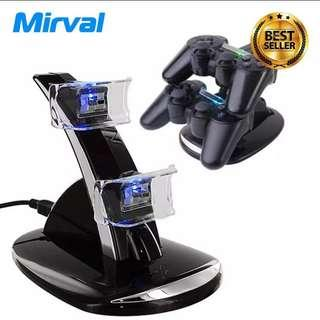 Mirval PAS4 PS4 Dual Charger