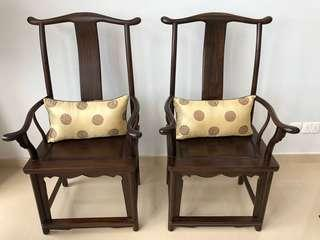A Pair of Chinese Antique Chairs