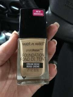 WET N WILD foundation