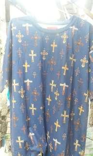 Tshirt Supreme Crosses Print