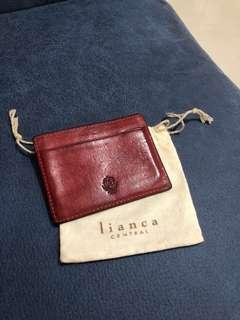 包郵📮LIANCE Card Holder - Red Brown