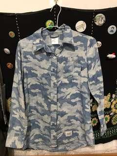 Navy 襯衫