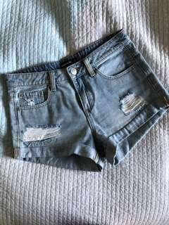 Glassons Distressed Denim Shorts