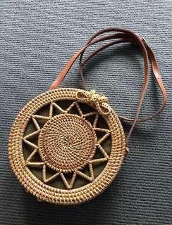 Circle Woven Bag