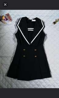 Navy blue romper suit