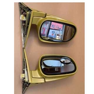 1999 Honda Civic SiR, B16A, EK2/3/4 Original Honda Electric Powered Side Mirrors-F&L